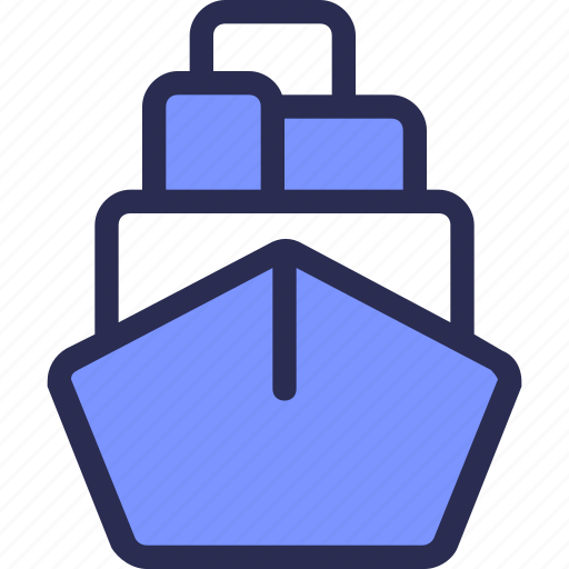 commerce, delivery, logistic, ship, shipping icon