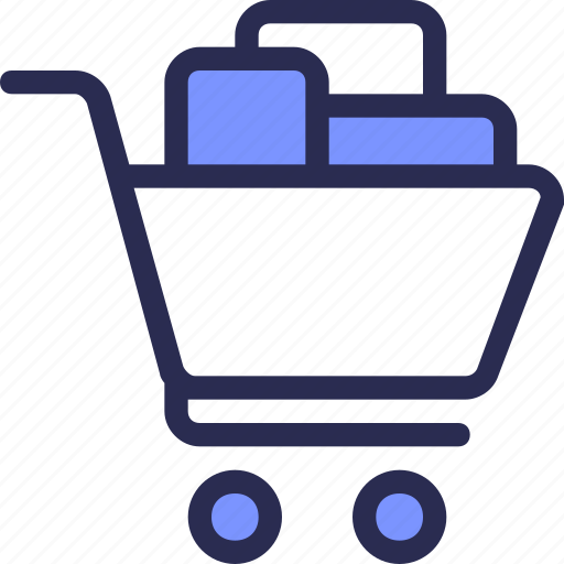 box, buy, cart, commerce, purchase, shop, trolley icon