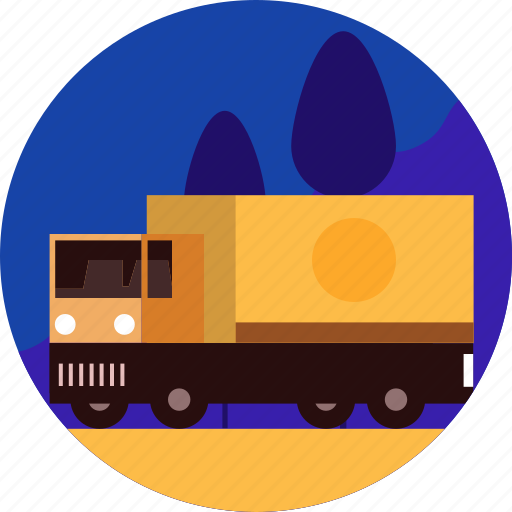 car, cargo, delivery, service, transport, truck, vehicle icon