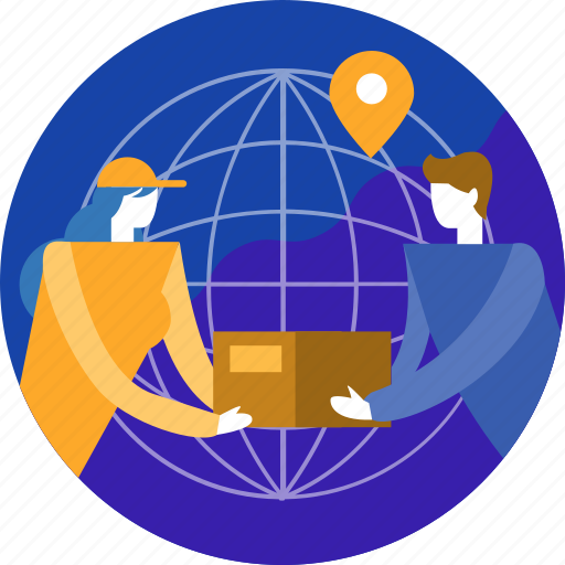 Cargo, bag, delivery, e-commerce, online, shipping, shopping icon - Download on Iconfinder