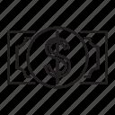 commerce, dollar, icon, money icon