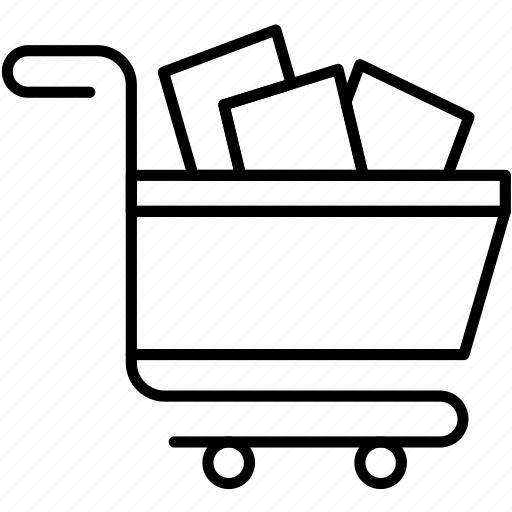 basket, cart, checkout, full, shopping icon
