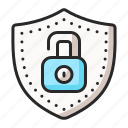 lock, payment, protection, safety, secure, security icon