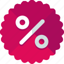 discount, offer, percentage, sale icon