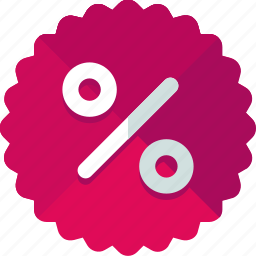 discount, offer, percent, price, sale, shopping, tag icon