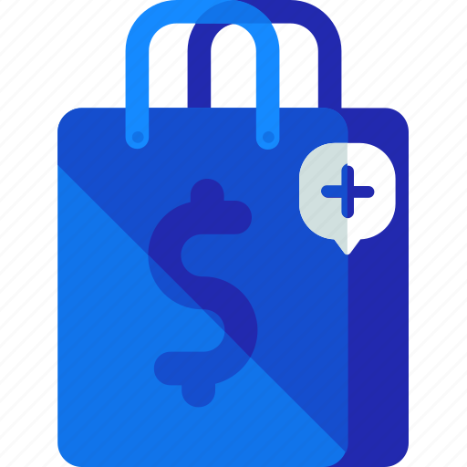 add, bag, new, shopping icon