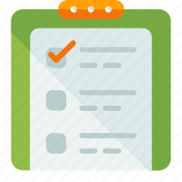 check, checklist, clipboard, ecommerce, list, shopping, to do icon