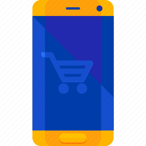 ecommerce, mobile, online, shopping icon