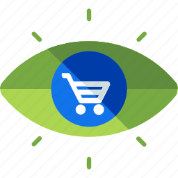 cart, ecommerce, item, online, review, shopping, view icon