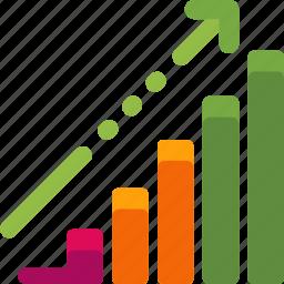 chart, ecommerce, graph, shopping, statistics icon