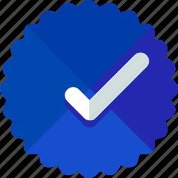 approve, sticker icon