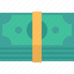 bank, banking, banknotes, bill, budget, business, cash, commerce, credit, currency, dollar, dollars, earnings, finance, financial, income, investment, money, pack, pay, payment, profit, shopping, stack icon