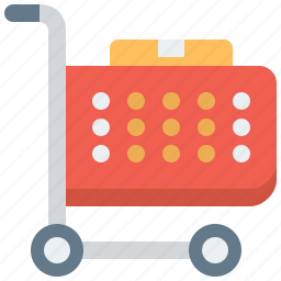 basket, business, buy, buying, cart, checkout, commerce, e-commerce, ecommerce, internet, market, marketing, online, order, package, product, purchase, retail, sale, shop, shopping, store, supermarket, trolley, web, webshop icon