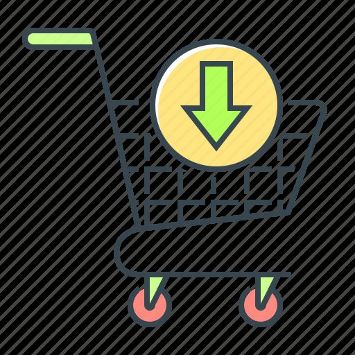 add to basket, basket, buy, cart, commerce, e-commerce, ecommerce icon