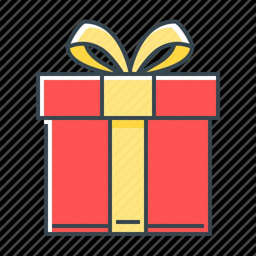 birthday, box, celebration, christmas, gift icon