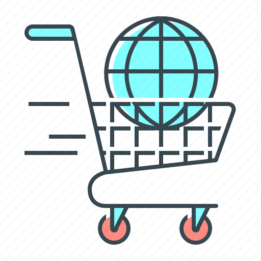 cart, e-commerce, online, online shopping, shopping, trolley icon