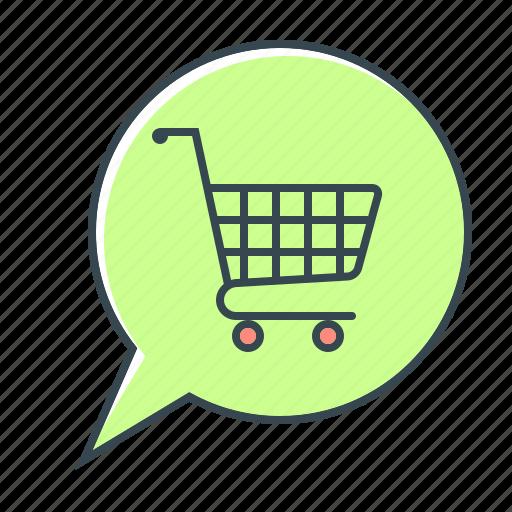 cart, comment, e-commerce, ecommerce, leave a comment, online, shopping icon