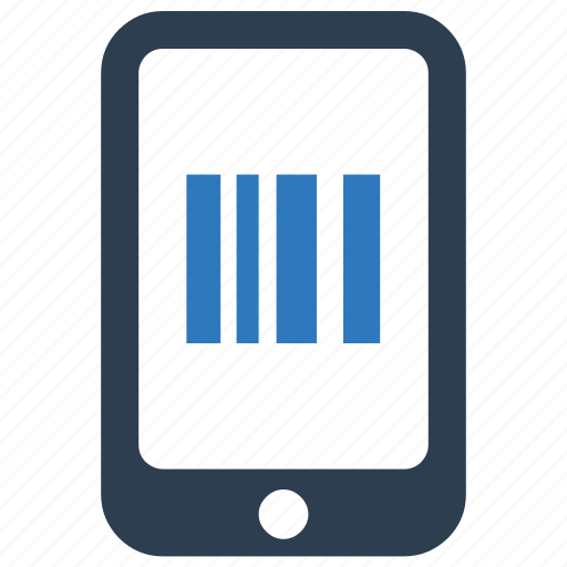 barcode, code, mobile, qr, scan icon