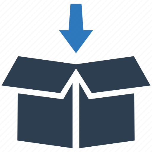 download, packing, storage icon