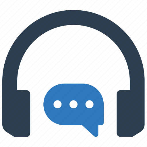 contact, headphones, headset, support icon