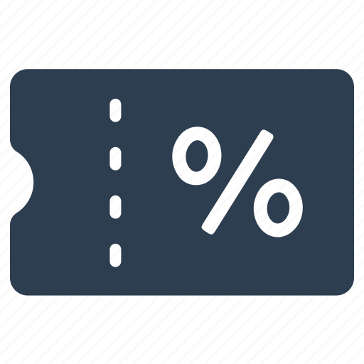 coupon, discount, percent, sales icon