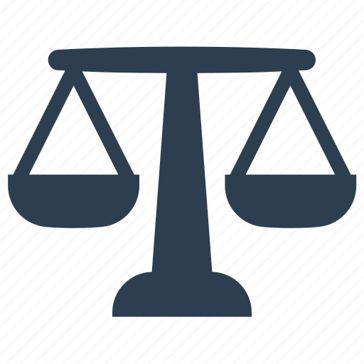 court, judge, justice, law, scale icon