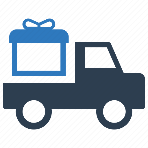 delivery, free, gift, present, shipping icon