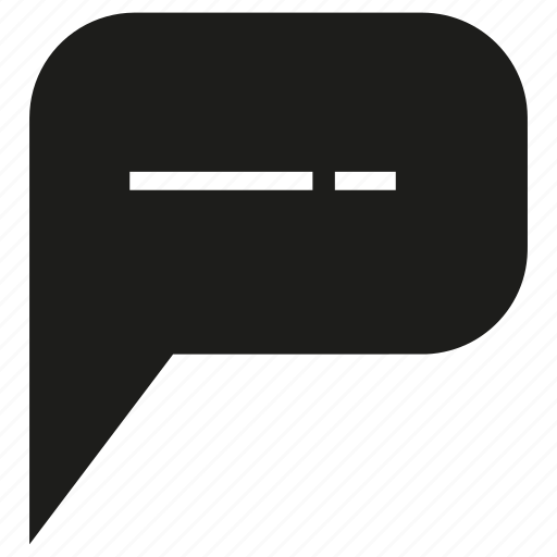 bubble, message, speech bubble icon