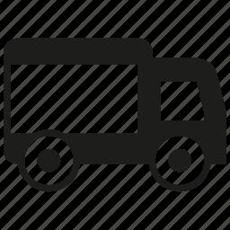 car, send, truck icon