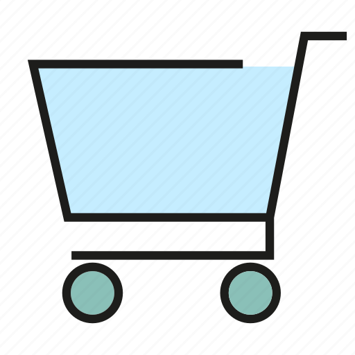 buy, commerce, shopping cart, trade icon