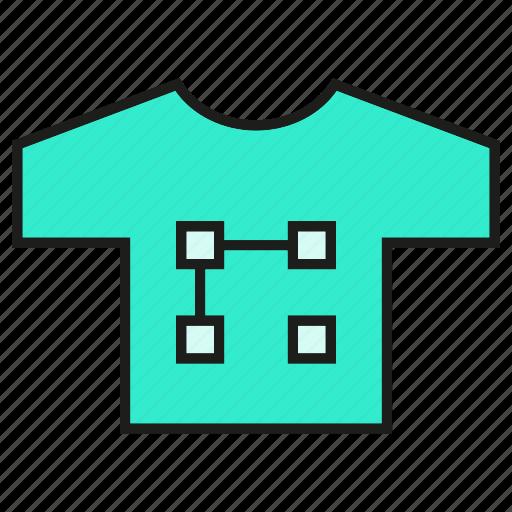 shirt, t shirt icon