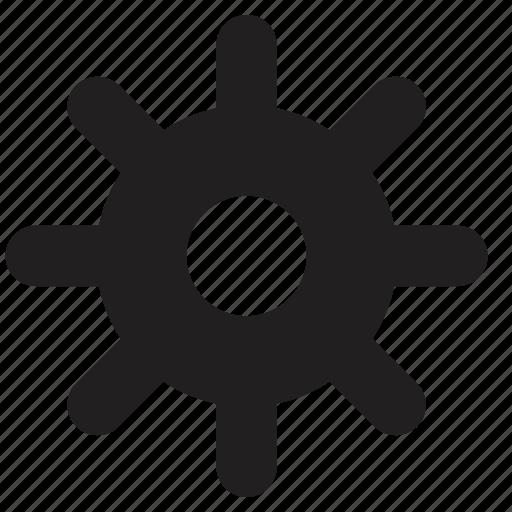 ecommerce, settings icon