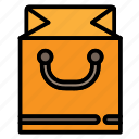 basket, bread, commerce, grocery, shopping, store- icon