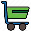 bag, basket, cart, ecommerce, shopping, trolley icon