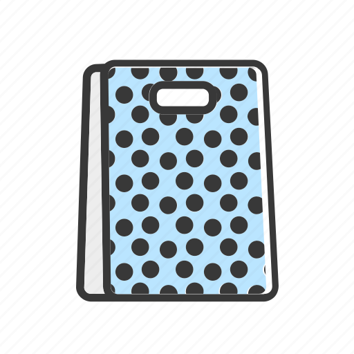 bag, business, dots, ecommerce, online, shopping icon