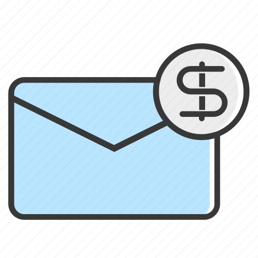 business, ecommerce, finance, mail, message, payment, shopping icon