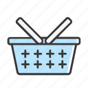 bag, basket, business, cart, ecommerce, online, shopping icon