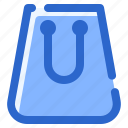 bag, paper, shop icon