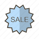badge, label, sale, sticker icon