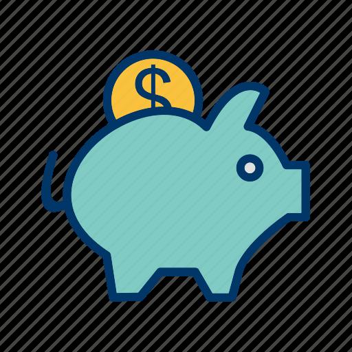 Money, piggy bank, finance icon - Download on Iconfinder