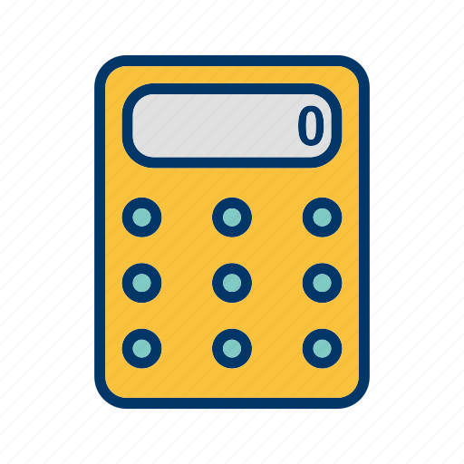 Calculator, calculation, math icon - Download on Iconfinder