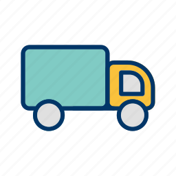 cargo, logistic, truck, van icon