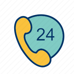 customer services, help, phone services, support icon