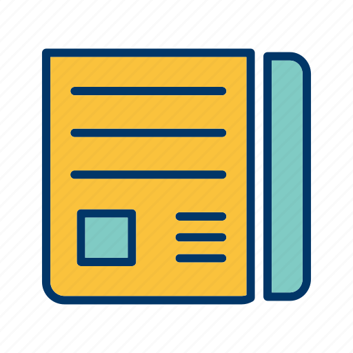 Social, news paper, media icon - Download on Iconfinder