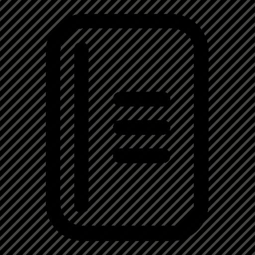 data, doc, document, file, paper icon