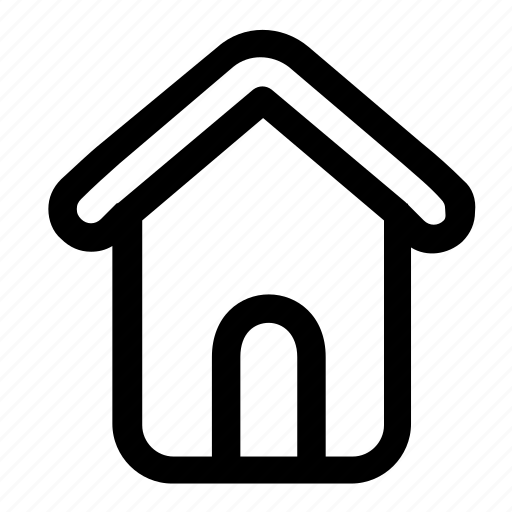building, home, house, main page icon