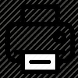 docs, fax, paper, print, printer, scan icon
