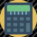 calculator, e commerce, e-commerce, ecommerce, shopping icon