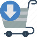 e commerce, e-commerce, ecommerce, shopping, trolly icon