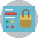 e commerce, e-commerce, ecommerce, page, product, shopping icon